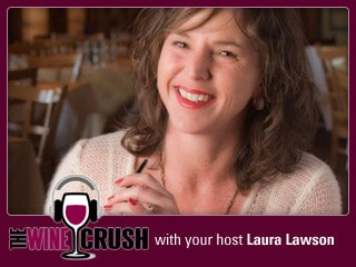wine crush with Laura Lawson
