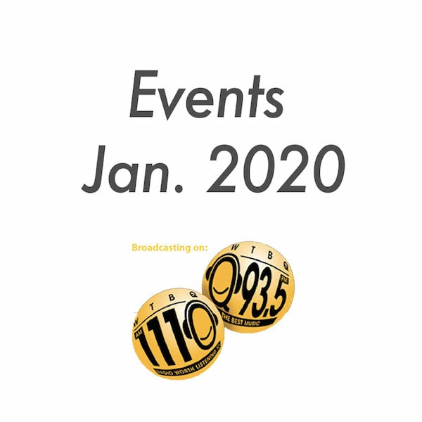 Events Jan 2020